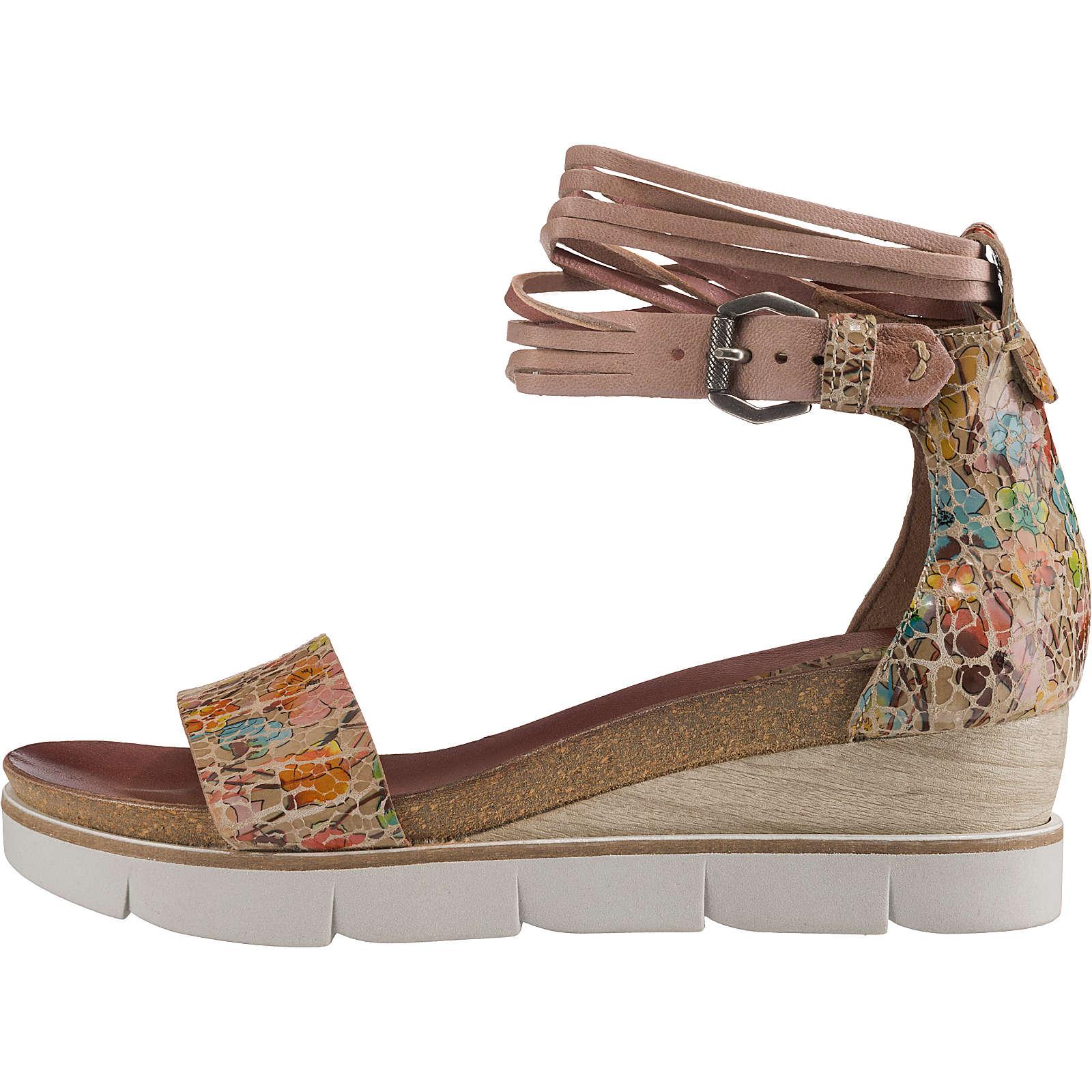 JOLANA & FENENA Klassische Sandalen beige Damen Gr. 37