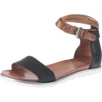 JOLANA & FENENA Klassische Sandalen schwarz-kombi Damen Gr. 41