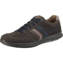 JOMOS Rogato Sneakers Low made in Germany dunkelbraun Herren Gr. 43