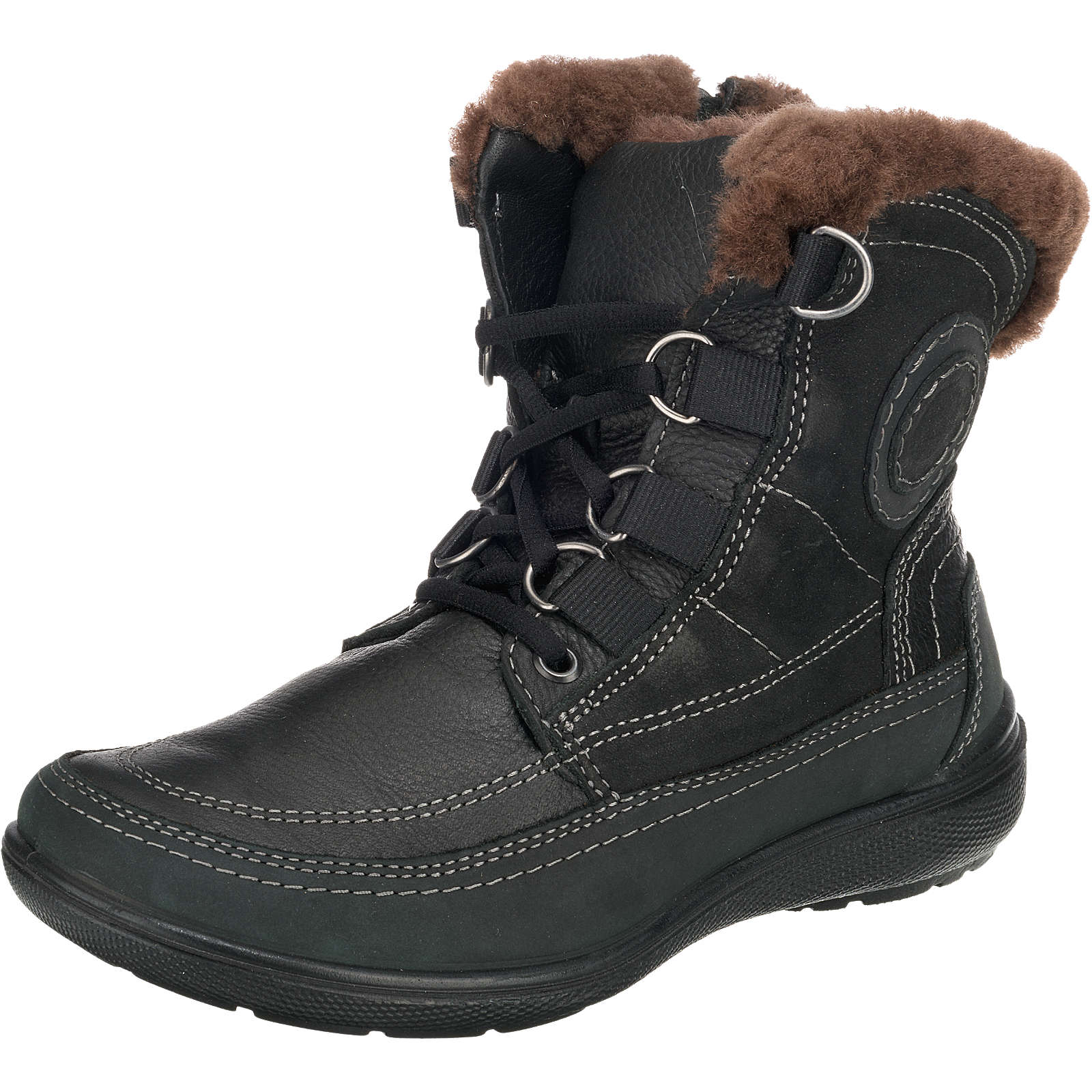 JOMOS Winterstiefel made in Germany schwarz Damen Gr. 37