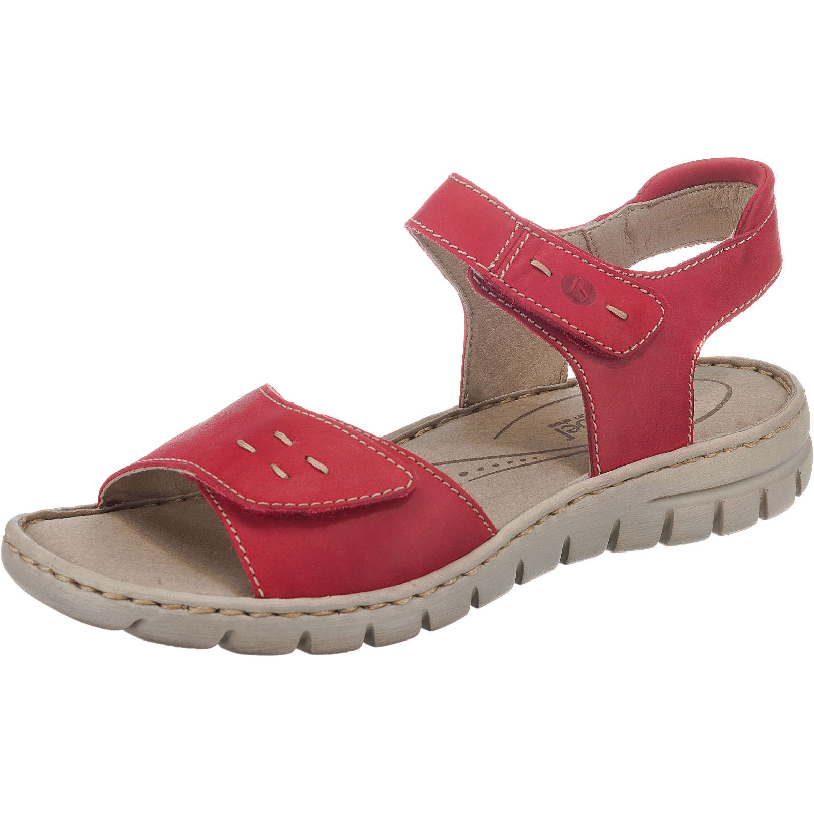 Josef Seibel Stefanie 21 Klassische Sandalen rot Damen Gr. 36