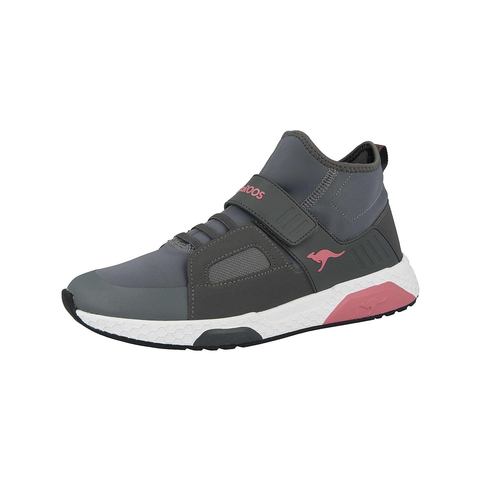 KangaROOS Kinder Sneakers Low Kadee Mid EV grau Gr. 35