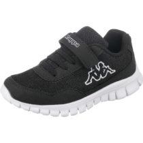 Kappa Kinder Sneakers low FOLLOW, WMS-Weite: M4 schwarz Junge Gr. 28