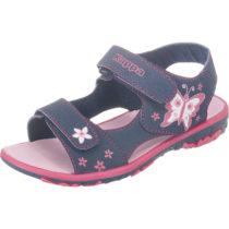 Kappa Sandalen BLOSSOM für Mädchen, WMS-Weite: M4 dunkelblau Mädchen Gr. 32