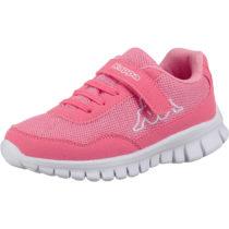 Kappa Sneakers low FOLLOW für Mädchen, WMS-Weite: M4 rosa Mädchen Gr. 29