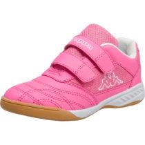 Kappa Sportschuhe KICKOFF für Mädchen, WMS-Weite: M4 pink Mädchen Gr. 26