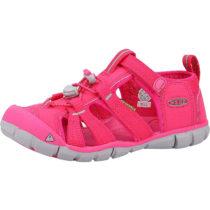 KEEN Outdoorsandalen für Mädchen pink Mädchen Gr. 30