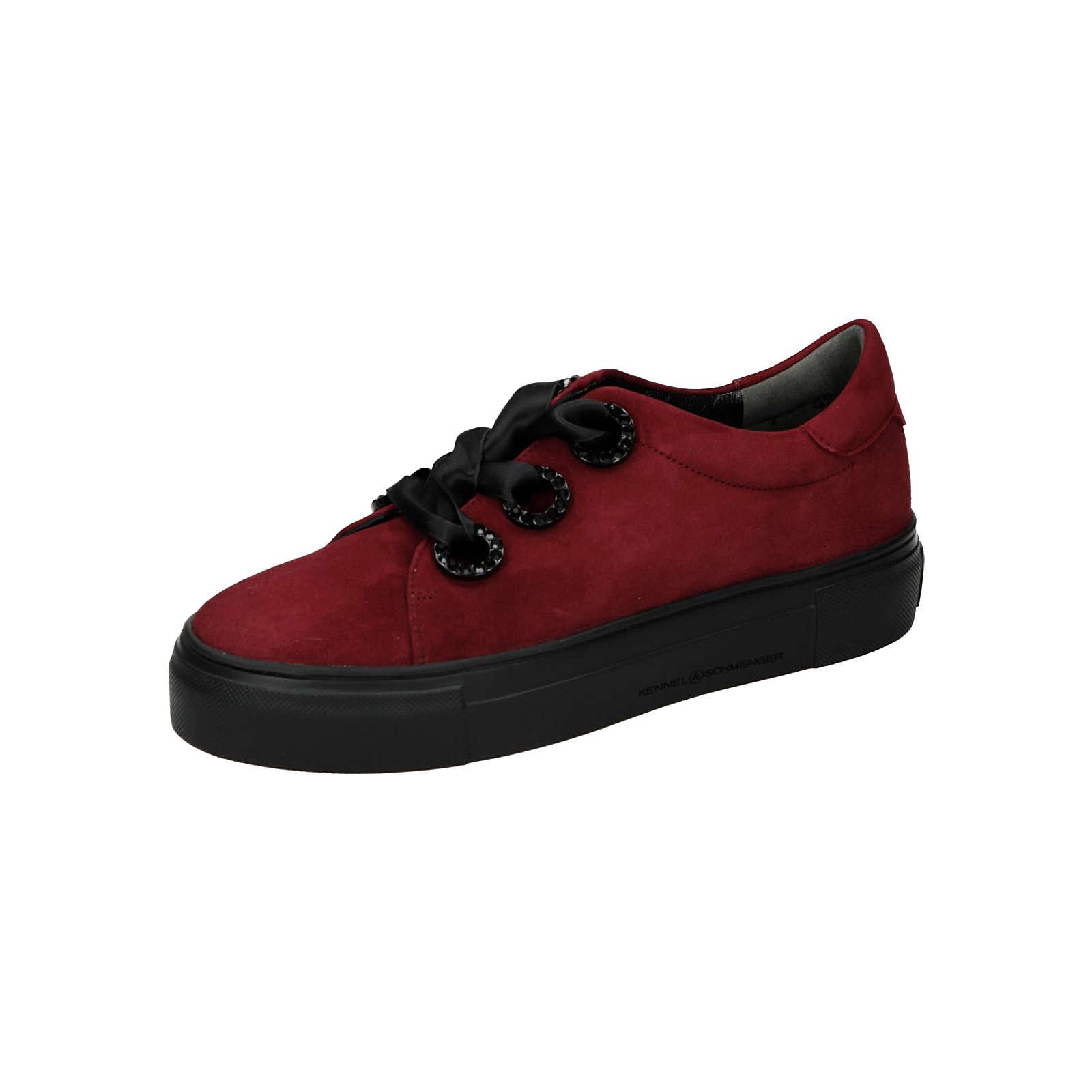 Kennel & Schmenger Sneaker Komfort-Halbschuhe rot Damen Gr. 41,5