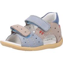 KicKers Sandalen für Jungen grau-kombi Junge Gr. 20