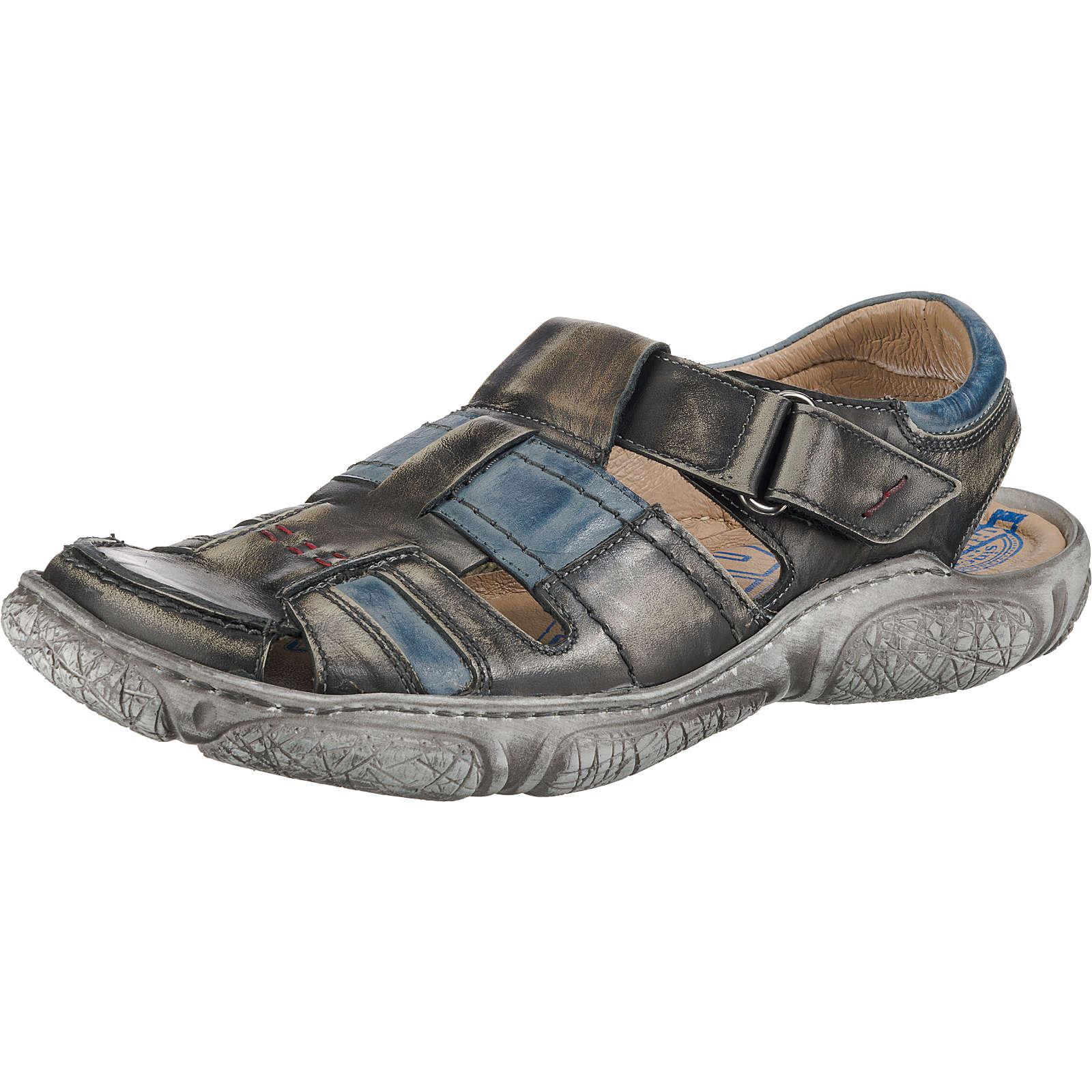 Krisbut Klassische Sandalen grau-kombi Herren Gr. 43