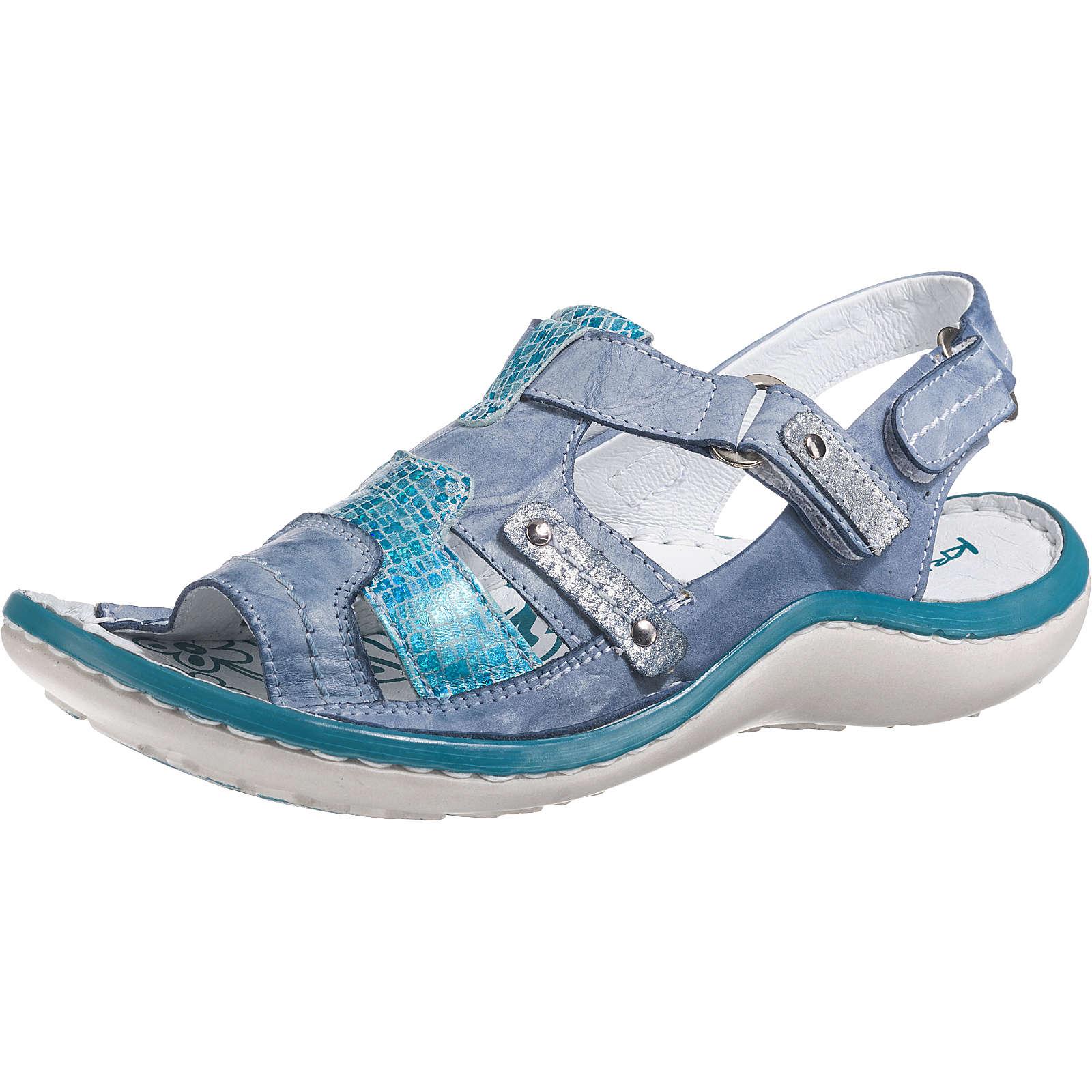 Krisbut Klassische Sandaletten blau Damen Gr. 37