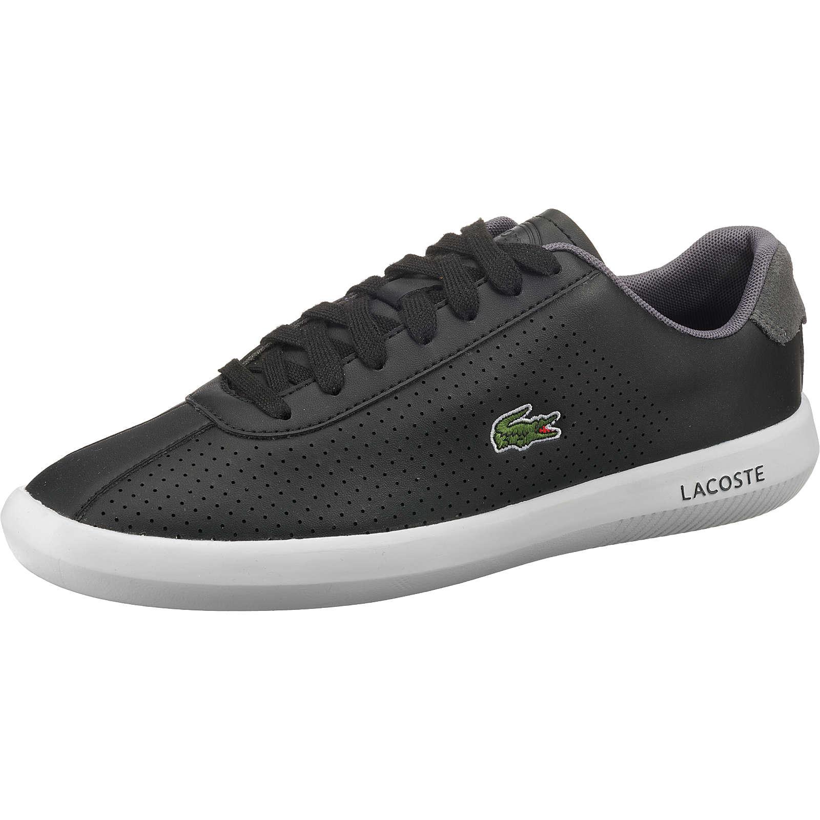 LACOSTE Avance Sneakers Low schwarz Herren Gr. 41