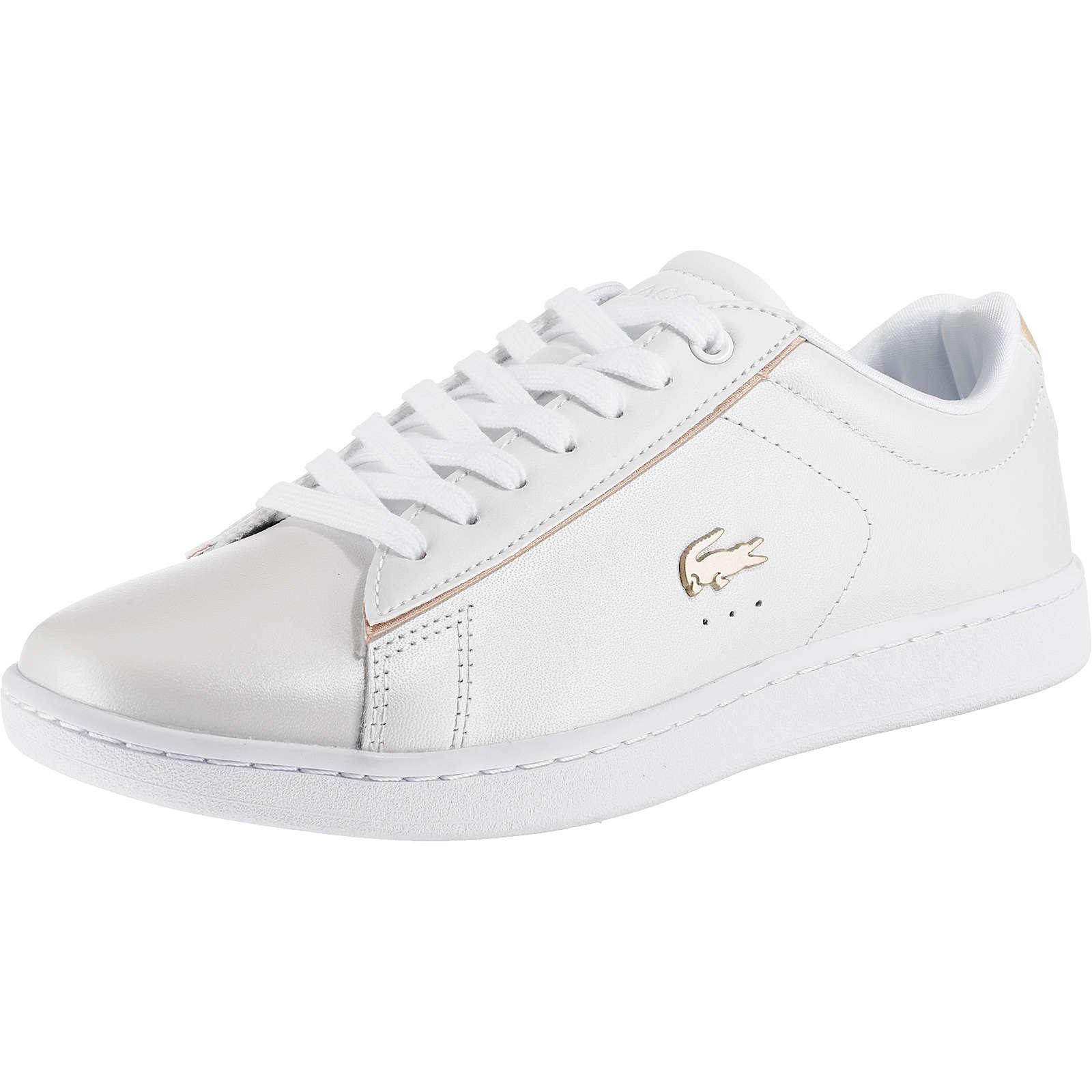 LACOSTE Carnaby Evo Sneakers Low weiß Modell 1 Damen Gr. 36