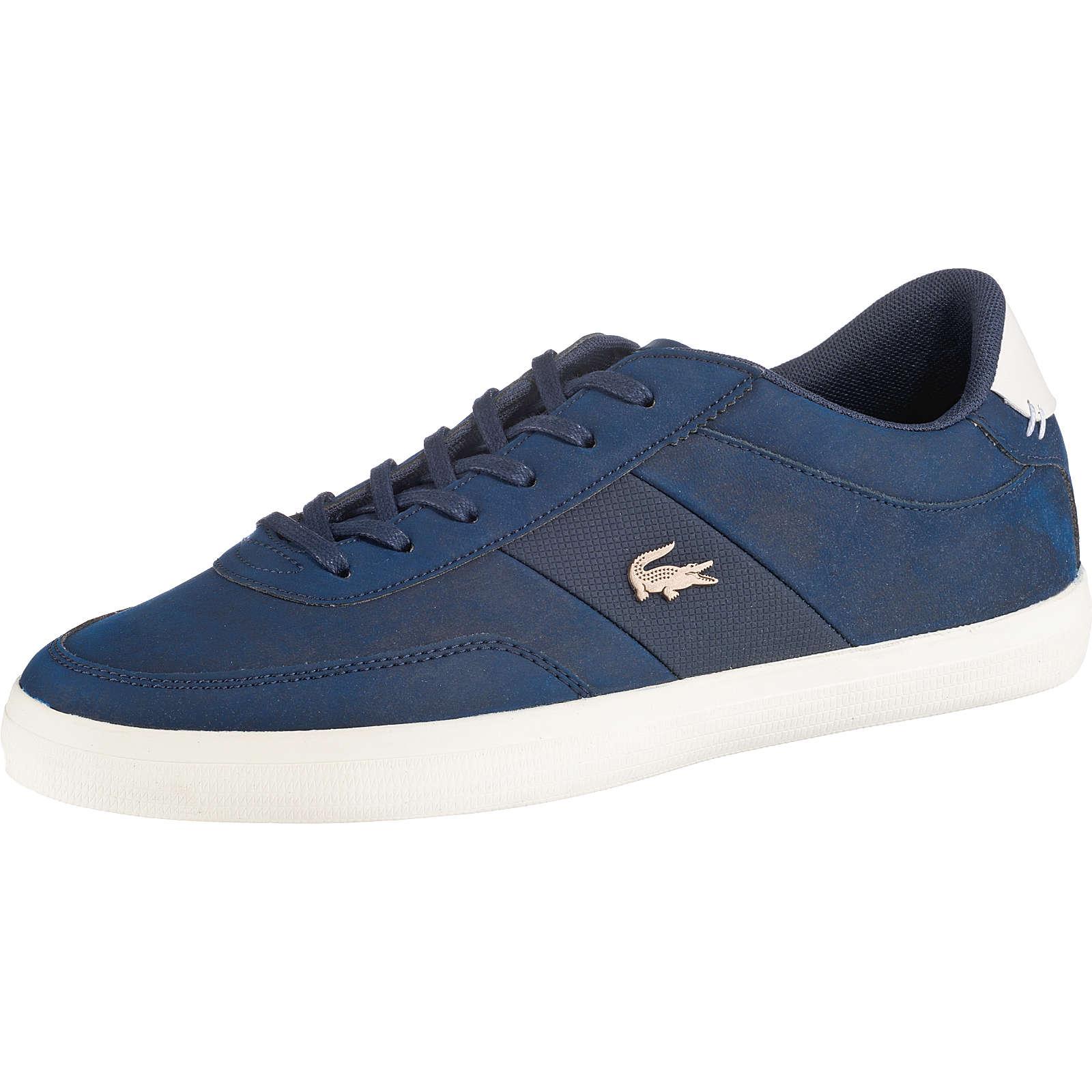 LACOSTE Court-Master Sneakers Low dunkelblau Herren Gr. 45