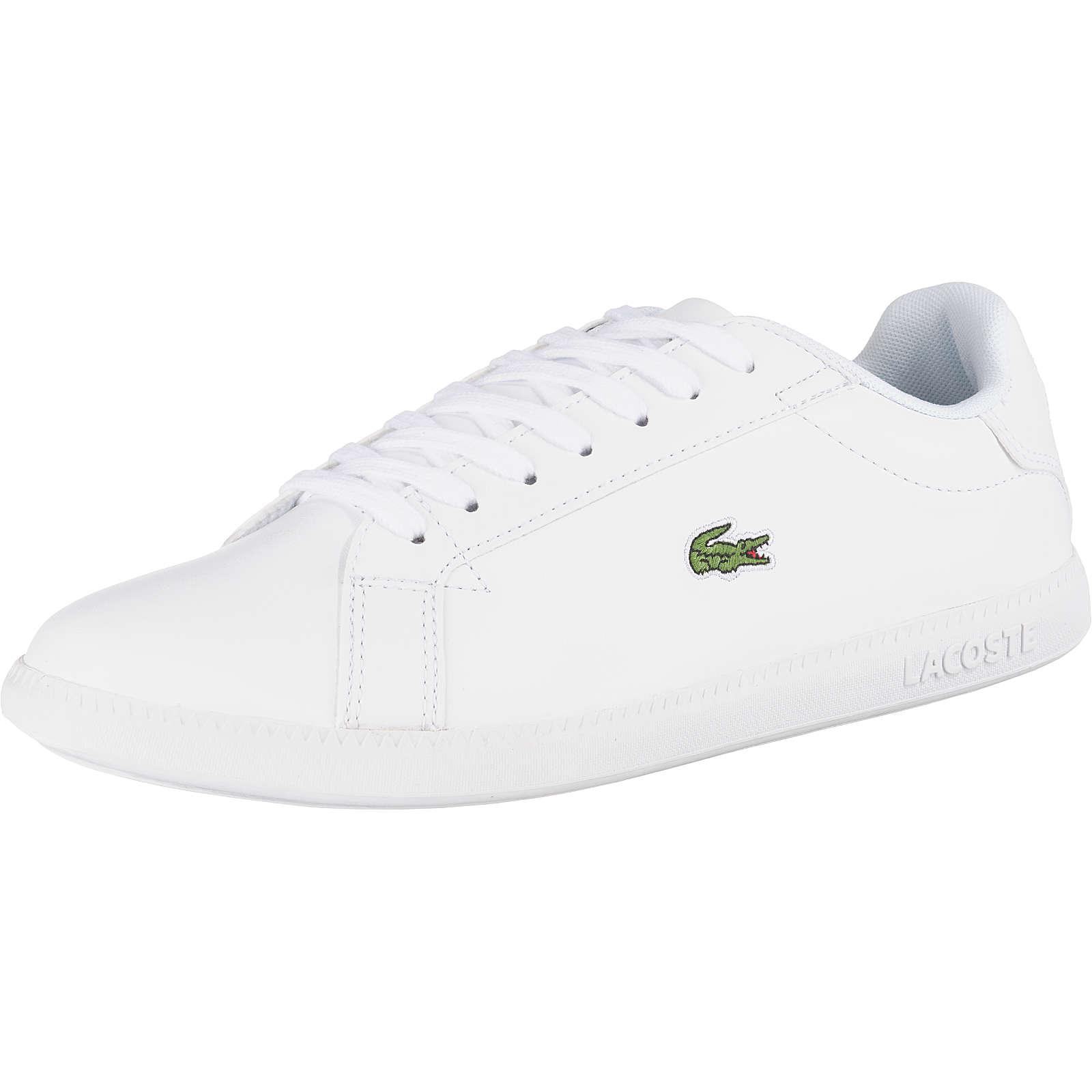 LACOSTE Graduate Sneakers Low weiß Damen Gr. 42