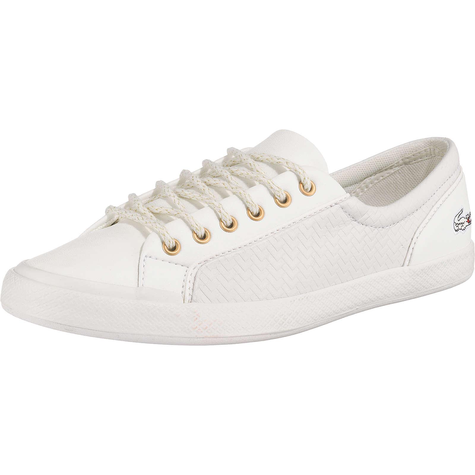 LACOSTE Lancelle Sneakers Low weiß Damen Gr. 37