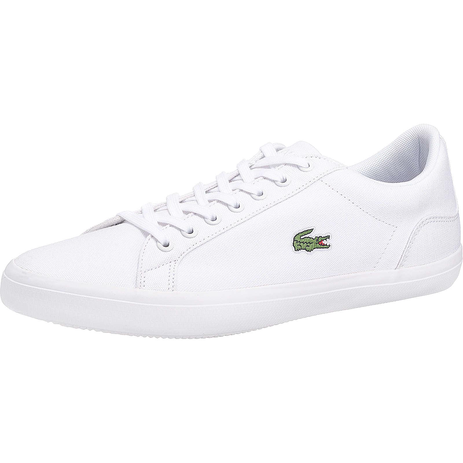 LACOSTE Lerond Bl 2 Cam Sneakers weiß Herren Gr. 41