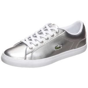 LACOSTE Lerond Sneakers Low für Mädchen silber/weiß Mädchen Gr. 36