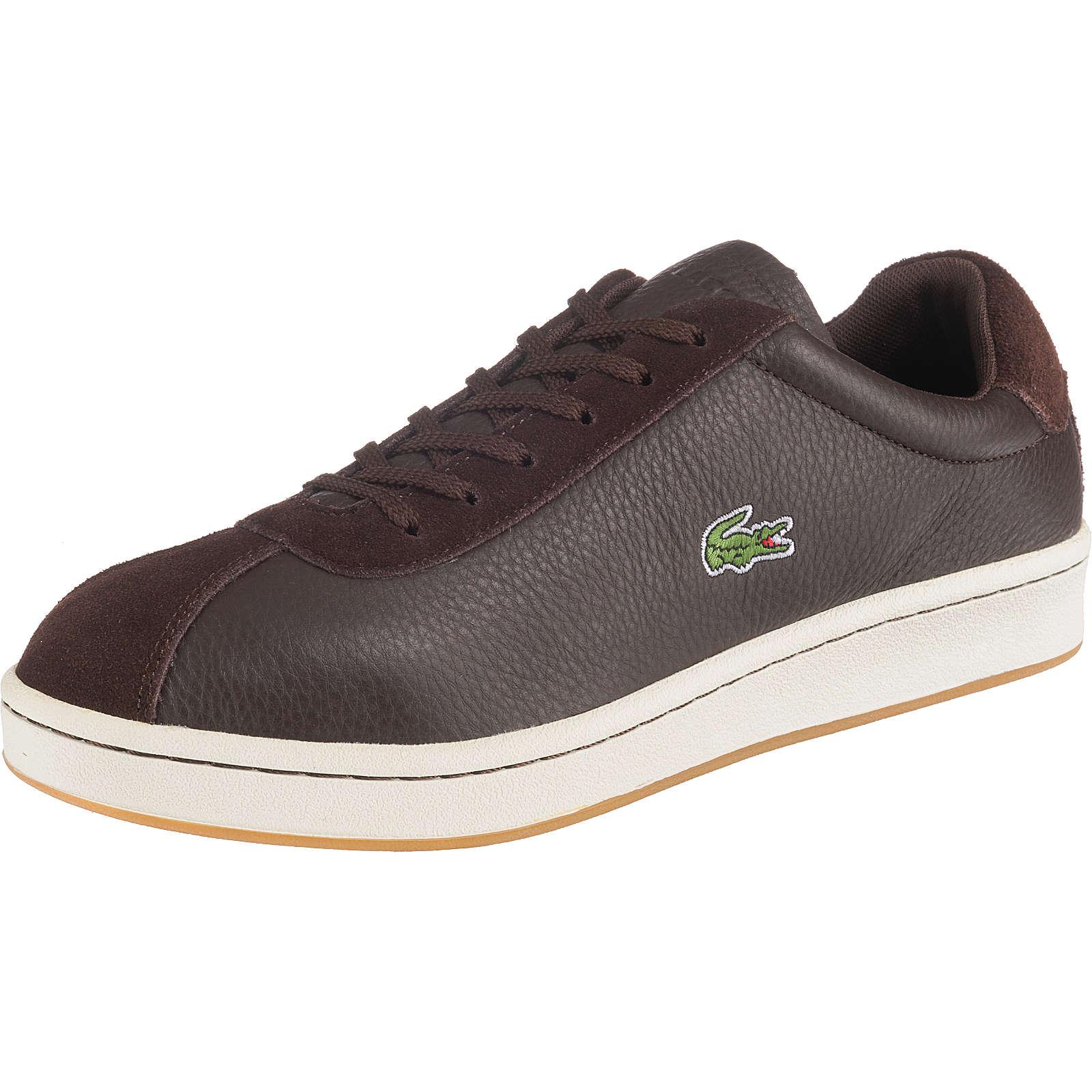 LACOSTE Masters Sneakers Low braun Herren Gr. 44,5