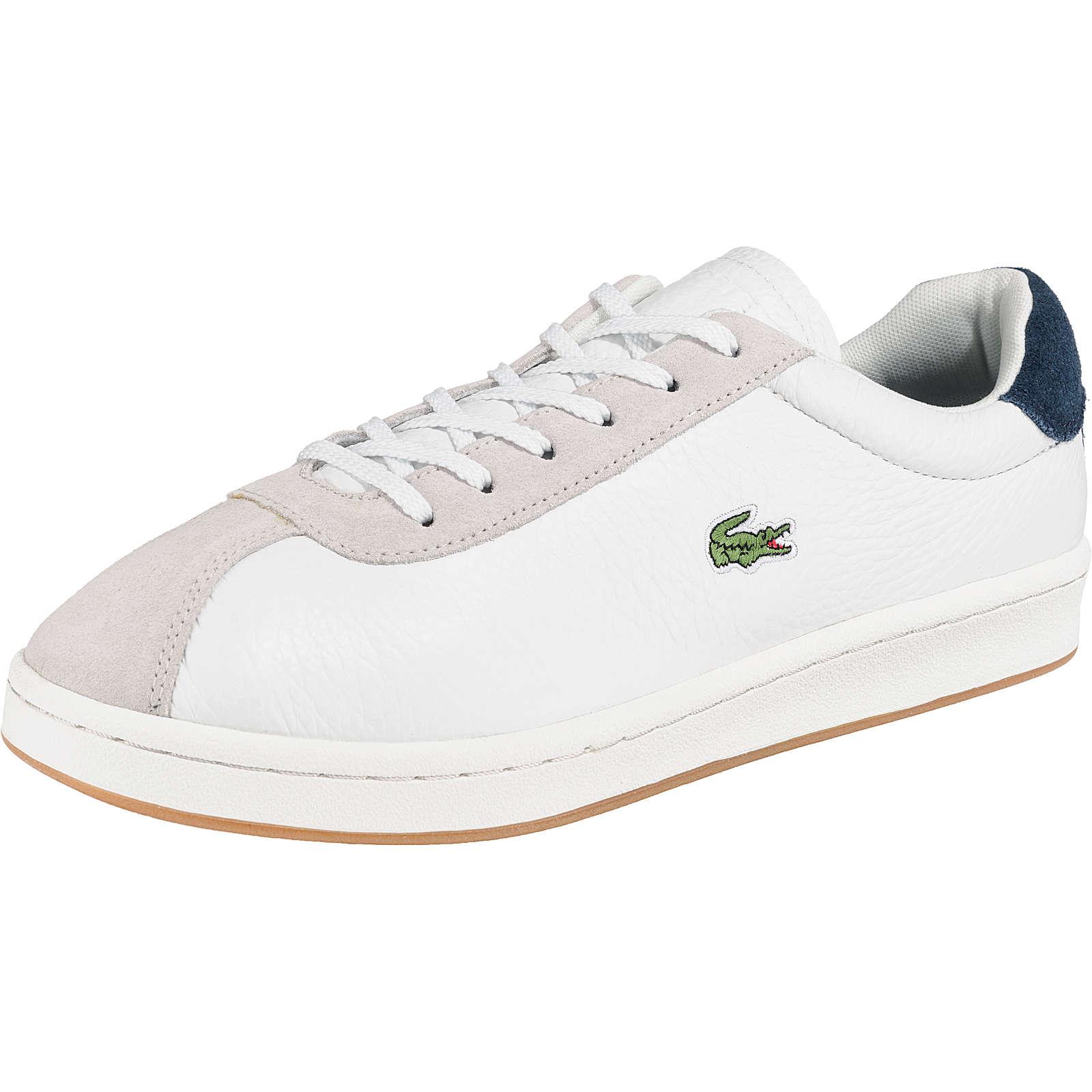 LACOSTE Masters Sneakers Low weiß Modell 1 Herren Gr. 42,5