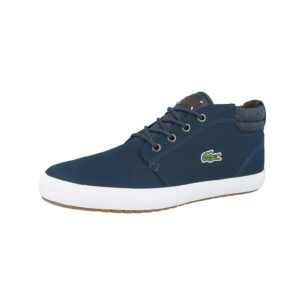 LACOSTE Schuhe Ampthill Terra 318 1 Sneakers Low blau Herren Gr. 43