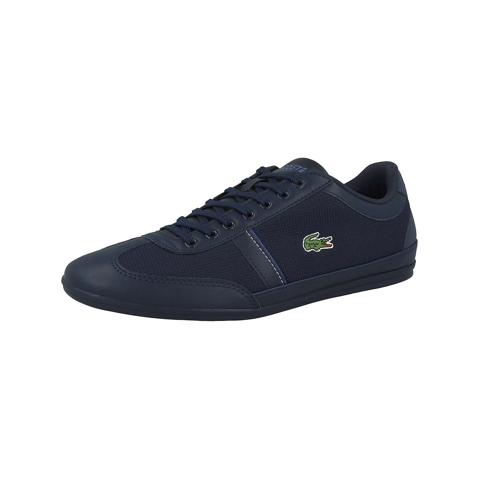 LACOSTE Schuhe Misano Sport 318 1 Sneakers Low blau Herren Gr. 44,5