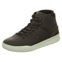 LACOSTE Sneakers High braun Herren Gr. 42