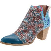 Laura Vita Ankle Boots blau-kombi Damen Gr. 36