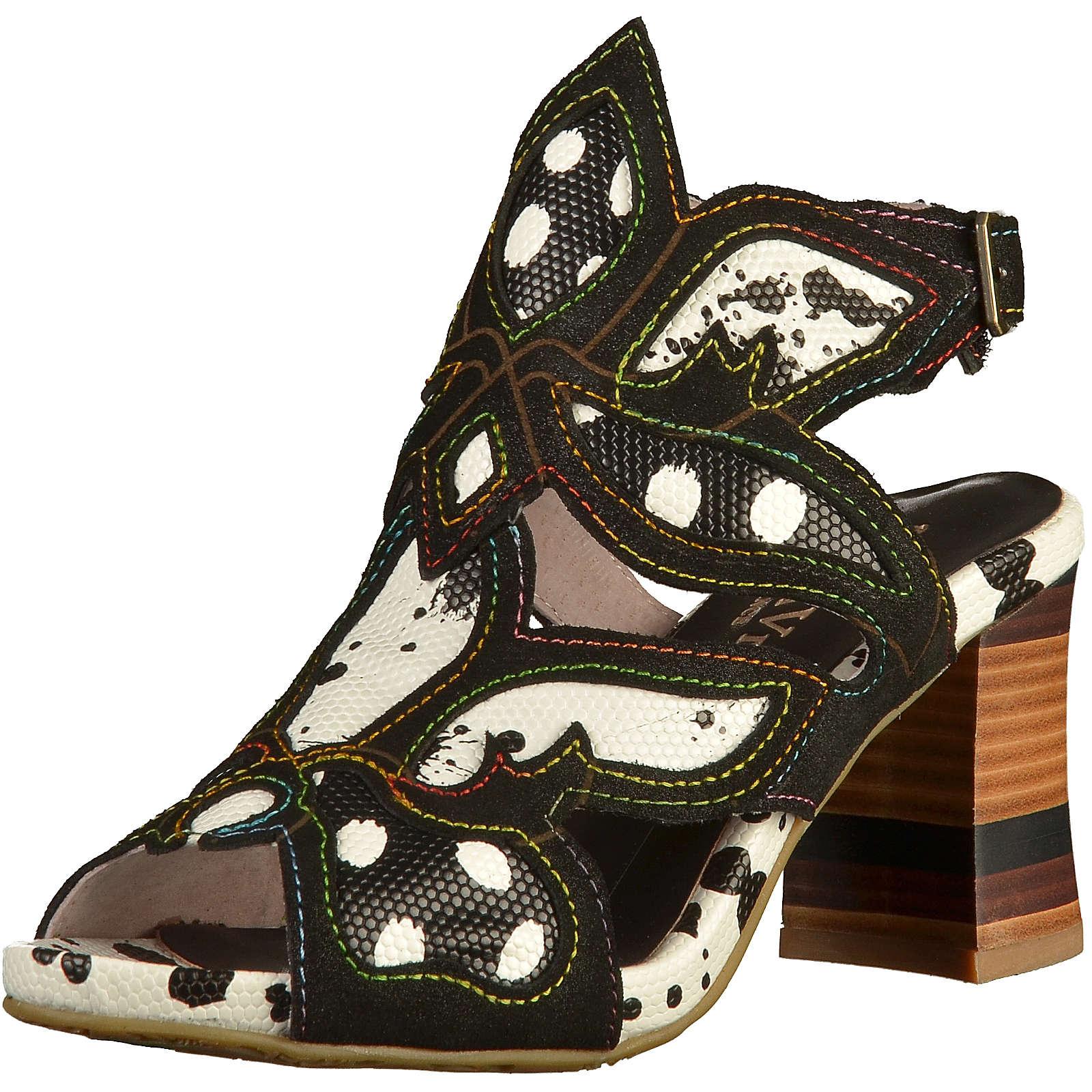 Laura Vita Sandalen Klassische Sandaletten schwarz Damen Gr. 36