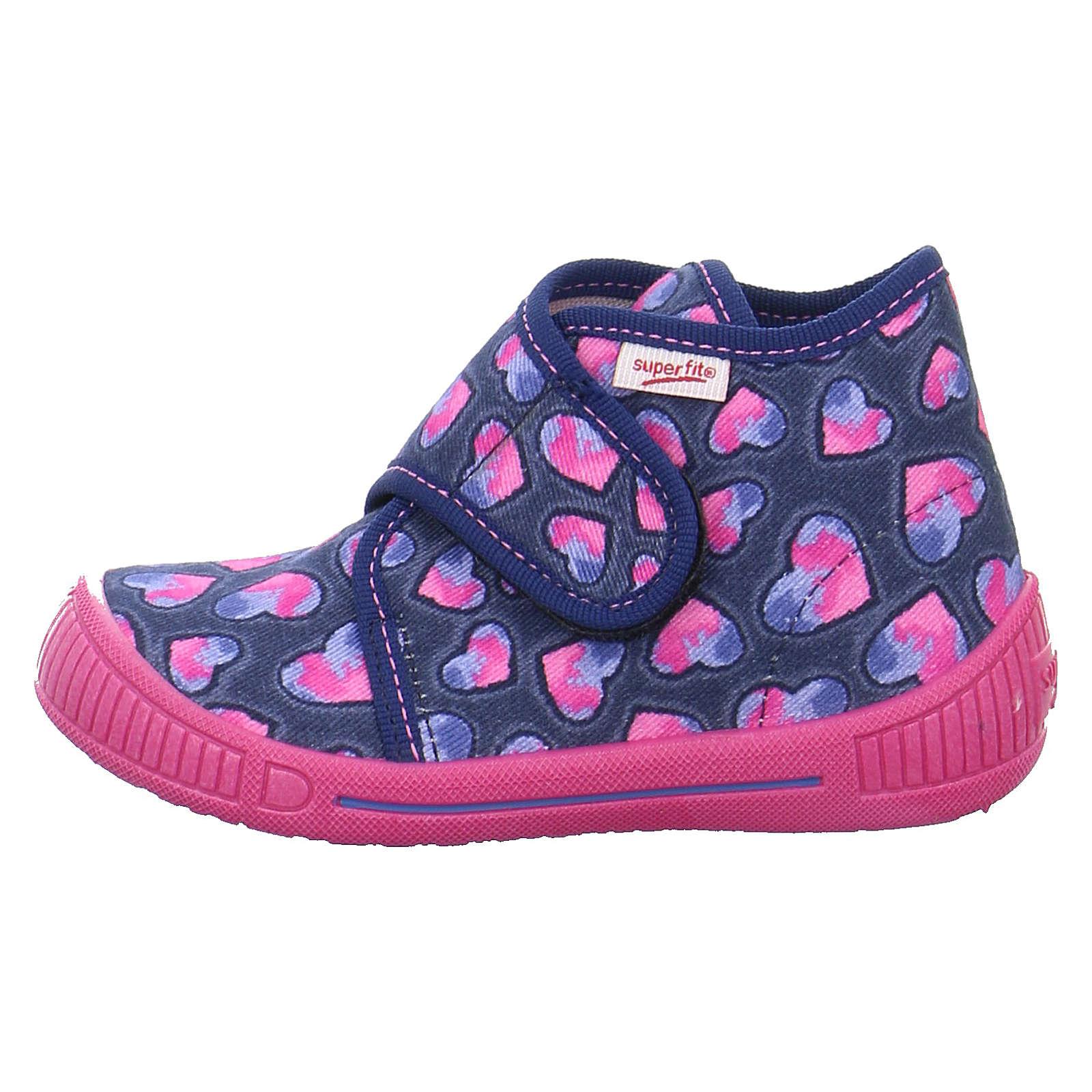 Legero Hausschuhe für Mädchen pink/blau Mädchen Gr. 22