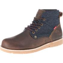 Levi´s® Jax Ankle Boots dunkelbraun Herren Gr. 42