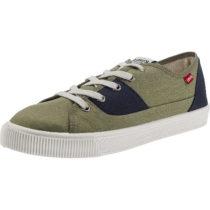 Levi´s® Malibu Patch Sneakers Low grün Herren Gr. 42