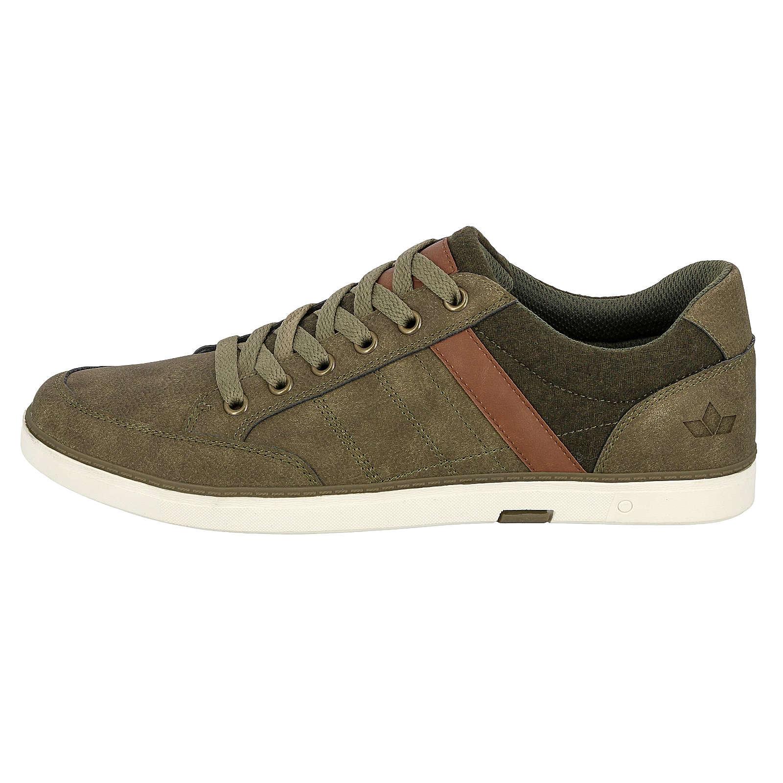 LICO Freizeitschuh Gunar Sneakers Low grün Herren Gr. 38