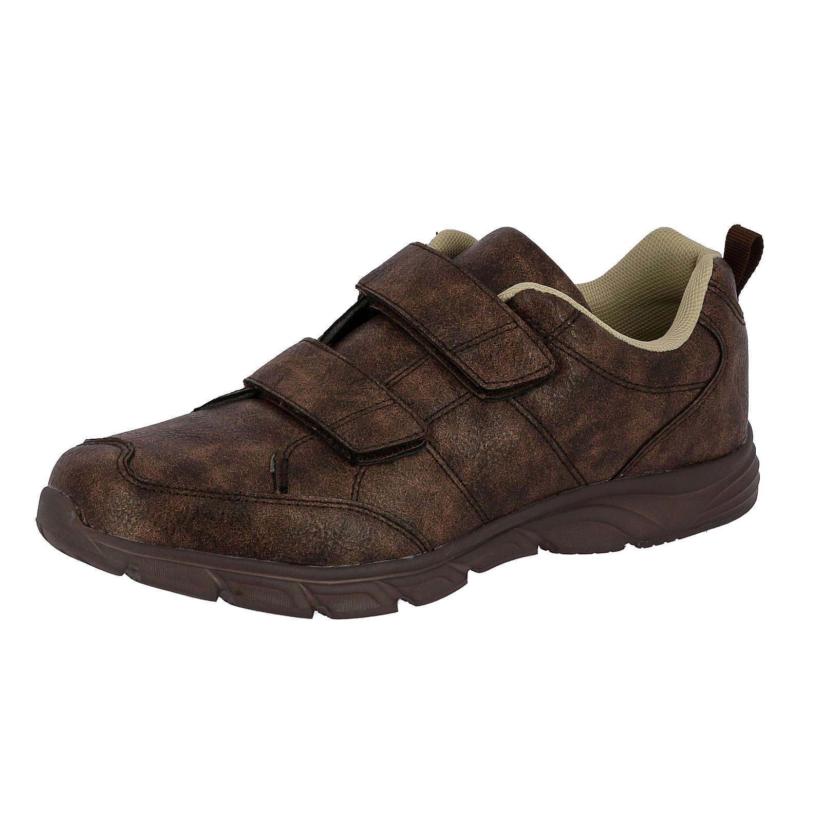 LICO Freizeitschuh Rondo V Sneakers Low braun Herren Gr. 41