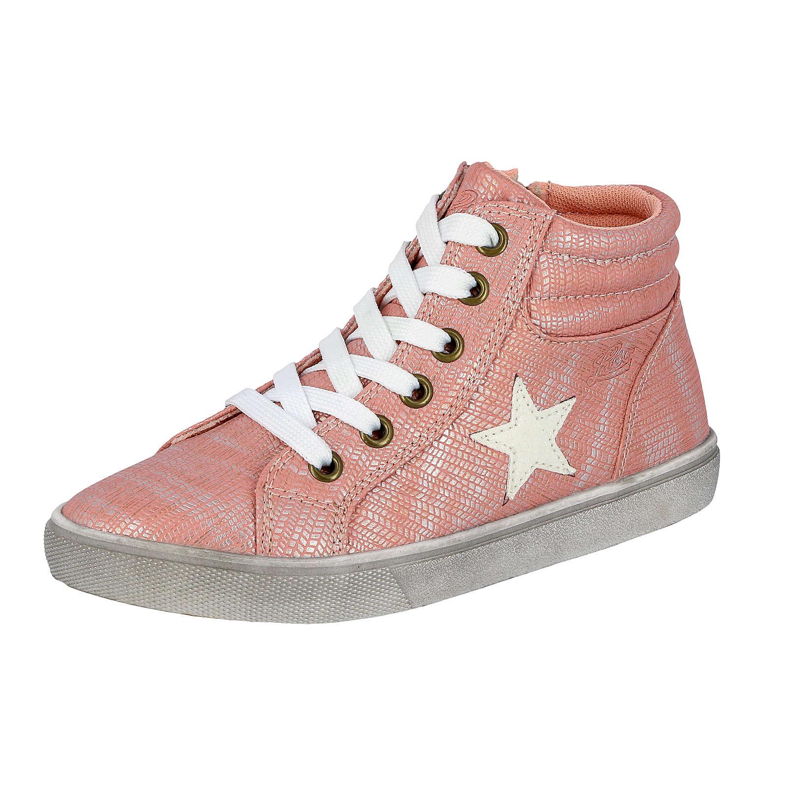 LICO Sneakers High für Mädchen rosa Mädchen Gr. 39