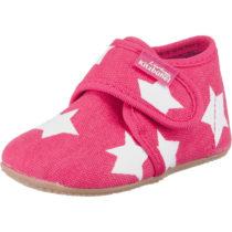 Living Kitzbühel Baby Hausschuhe für Mädchen, Sterne pink Mädchen Gr. 25