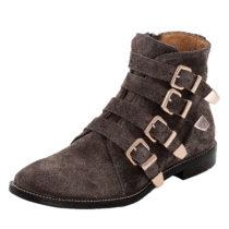 LLOYD Damenschuh mit trendigen Schnallendetails Ankle Boots braun Damen Gr. 38