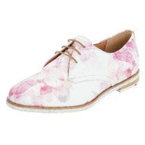 LLOYD Schnürschuh mit Floralprint Schnürschuhe pink Damen Gr. 35