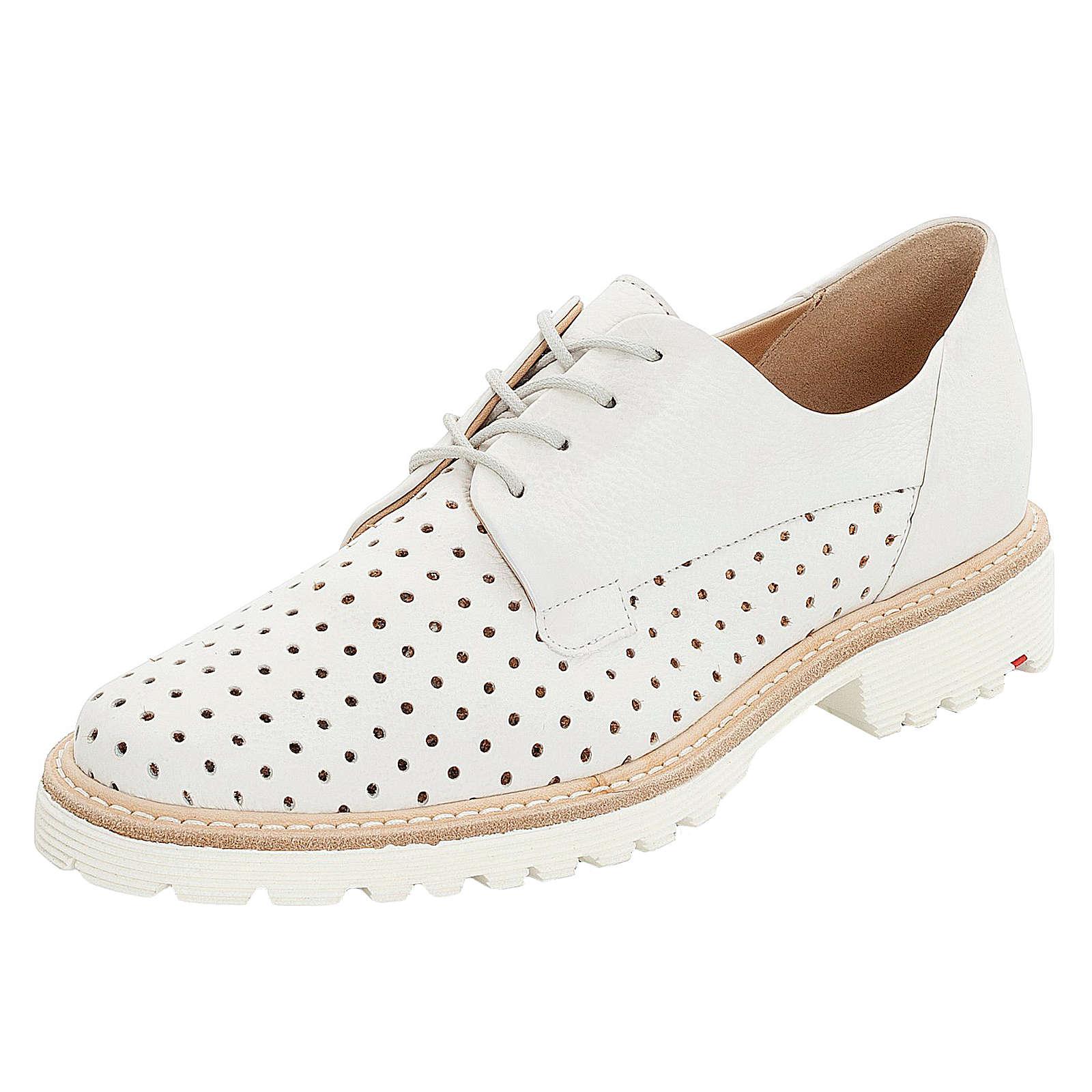 LLOYD Schnürschuh mit sommerlicher Perforation Schnürschuhe weiß Damen Gr. 41