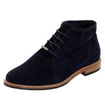 LLOYD Stiefelette im Tabakbeutelschnitt Ankle Boots dunkelblau Damen Gr. 38,5