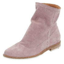 LLOYD Stiefelette mit Perforation Ankle Boots lila Damen Gr. 36