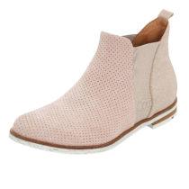 LLOYD Stiefelette mit sommerlicher Perforation Ankle Boots rosa Damen Gr. 40,5