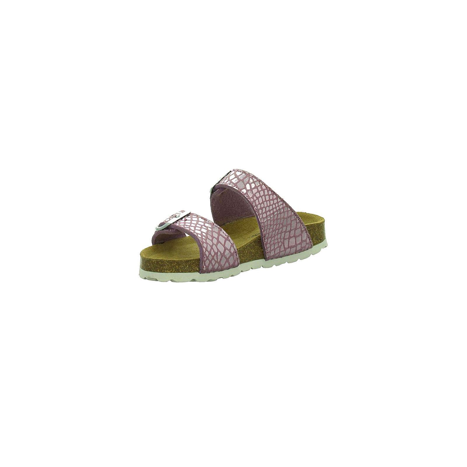 Longo Pantoletten für Mädchen rosa Mädchen Gr. 29