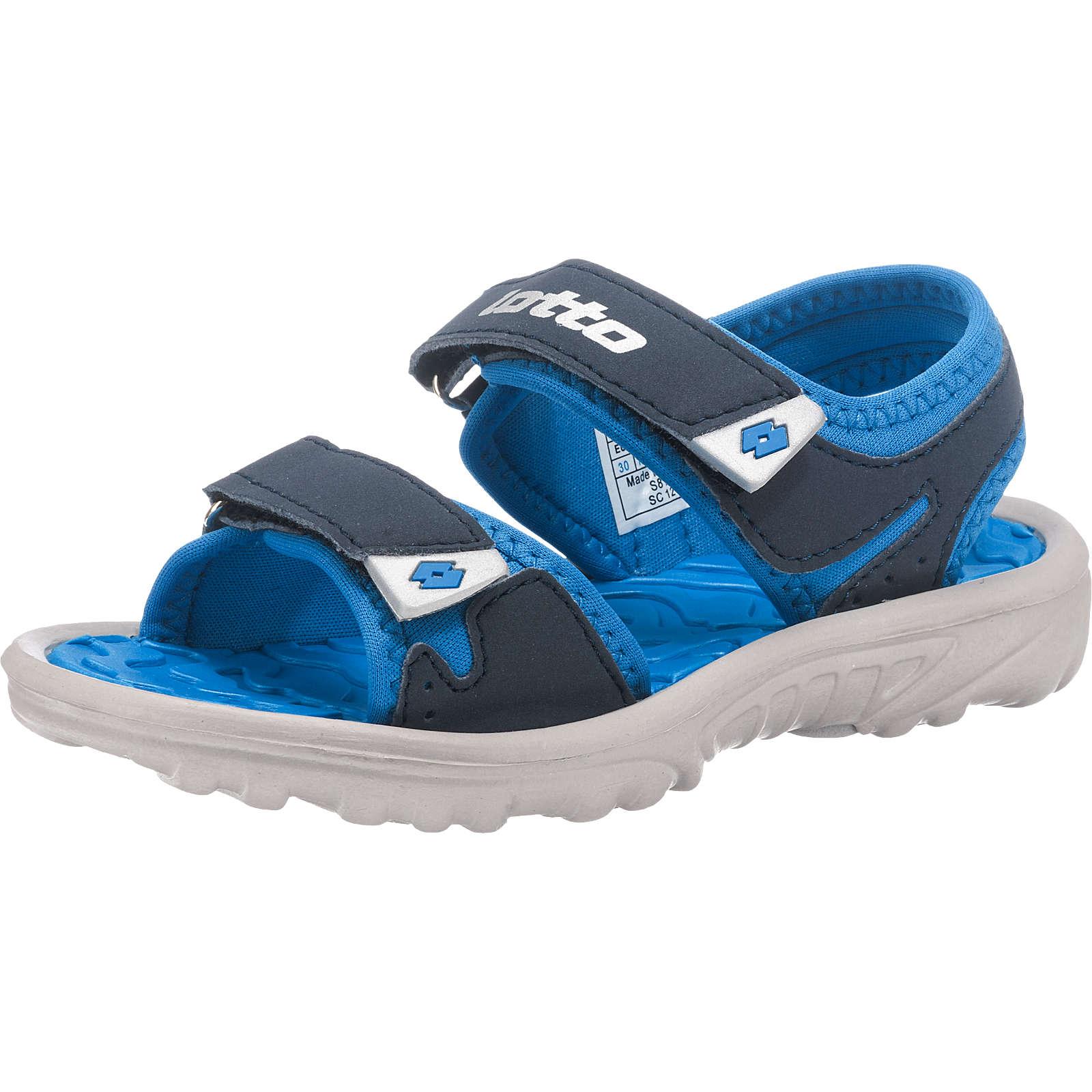 lotto Kinder Sandalen LAS ROCHAS III CL blau Gr. 29