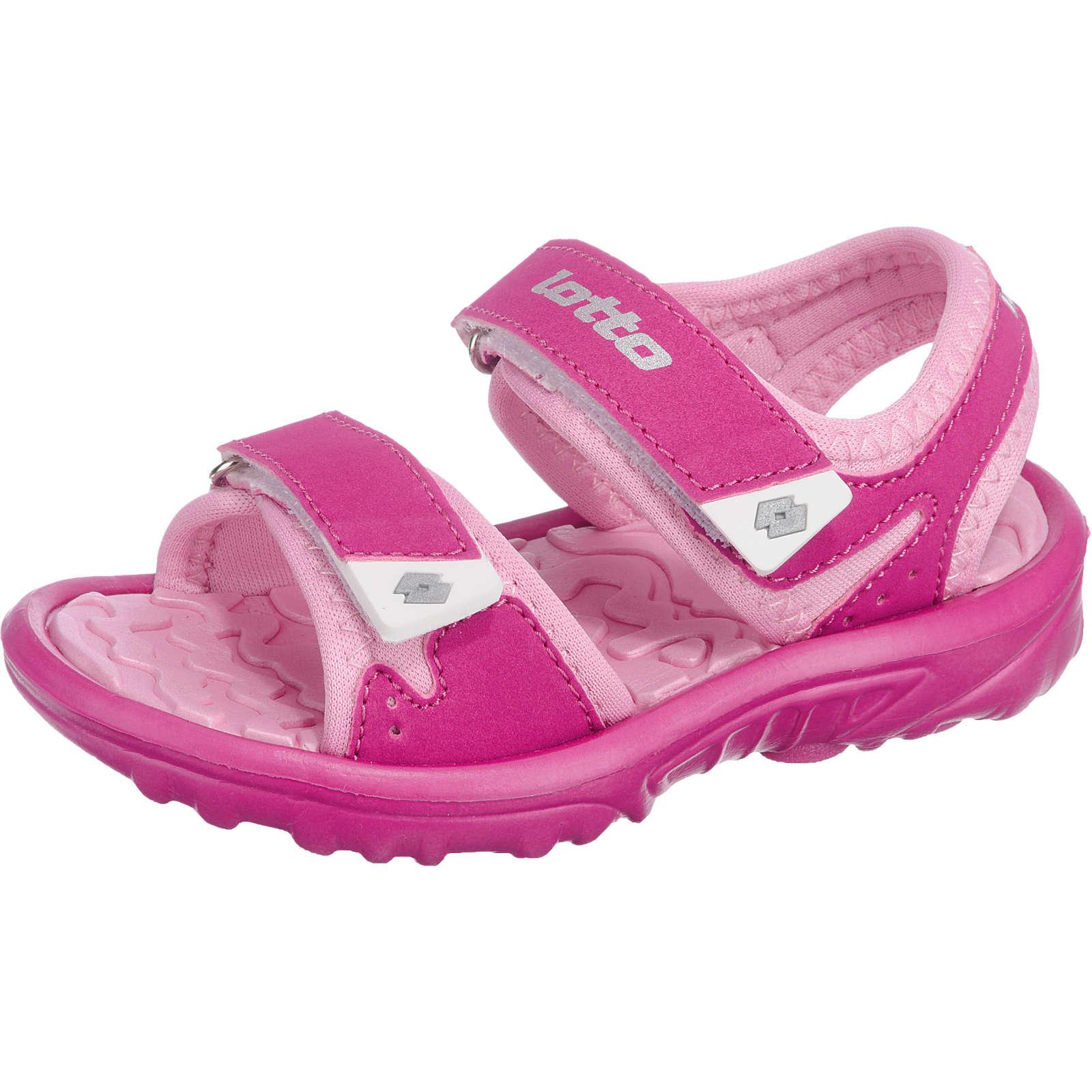 lotto Kinder Sandalen LAS ROCHAS III pink Mädchen Gr. 25
