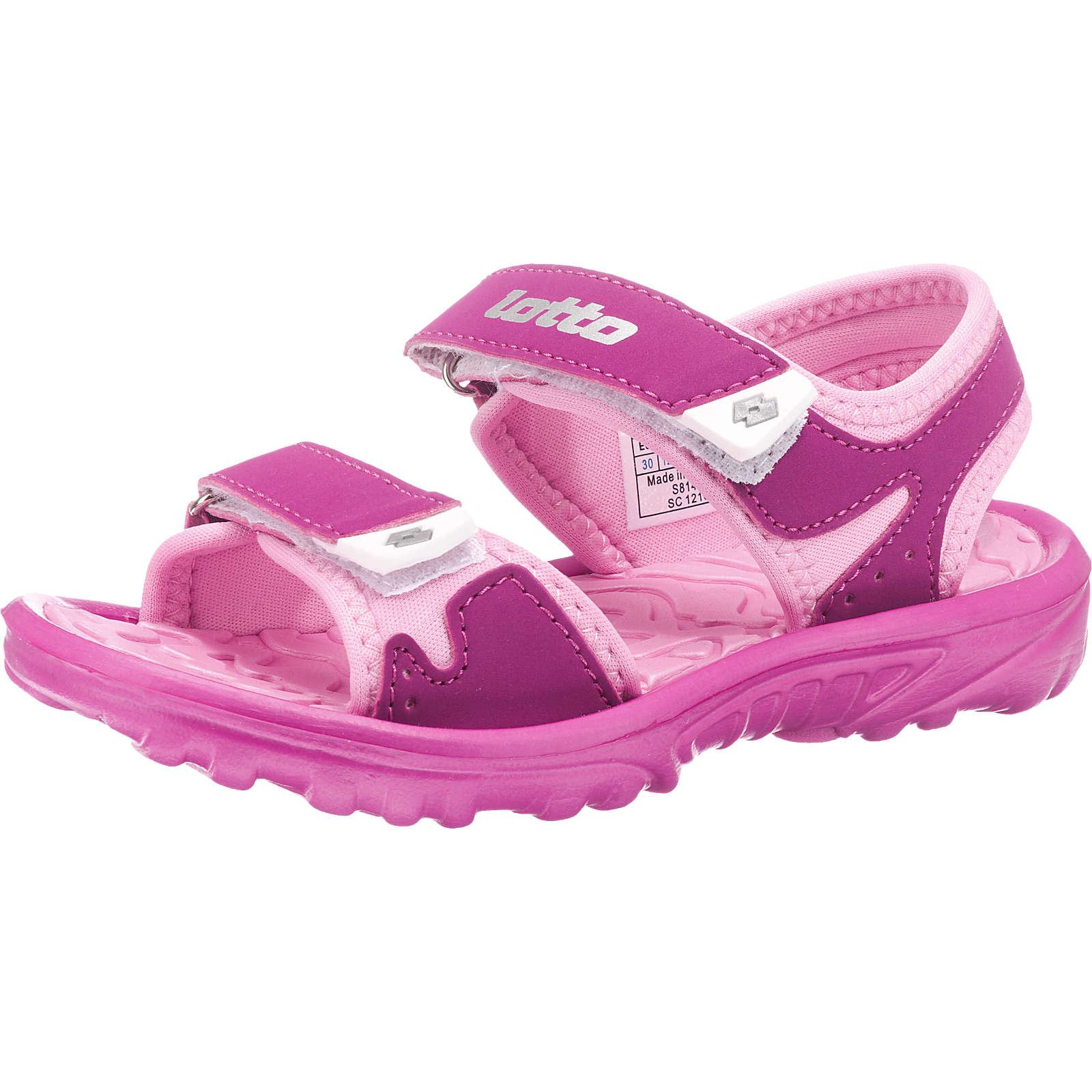 lotto Sandalen LAS ROCHAS III CL für Mädchen rosa Mädchen Gr. 27