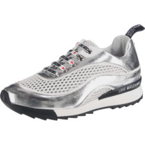 LOVE MOSCHINO Sneakers Low silber Damen Gr. 36