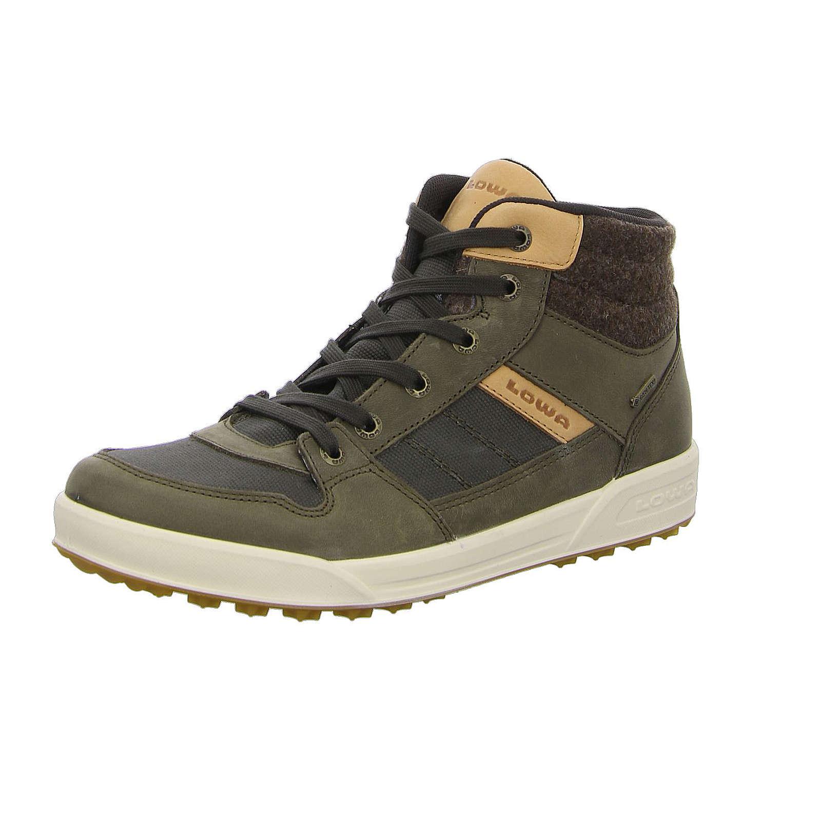 LOWA Sneakers High grün Herren Gr. 44