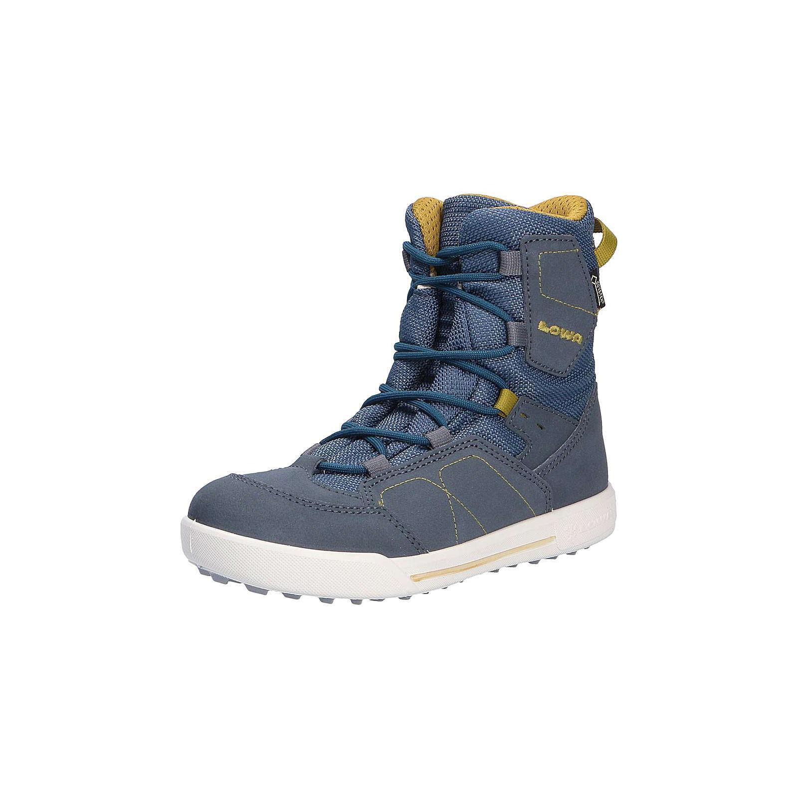 LOWA Stiefel für Jungen blau Junge Gr. 32