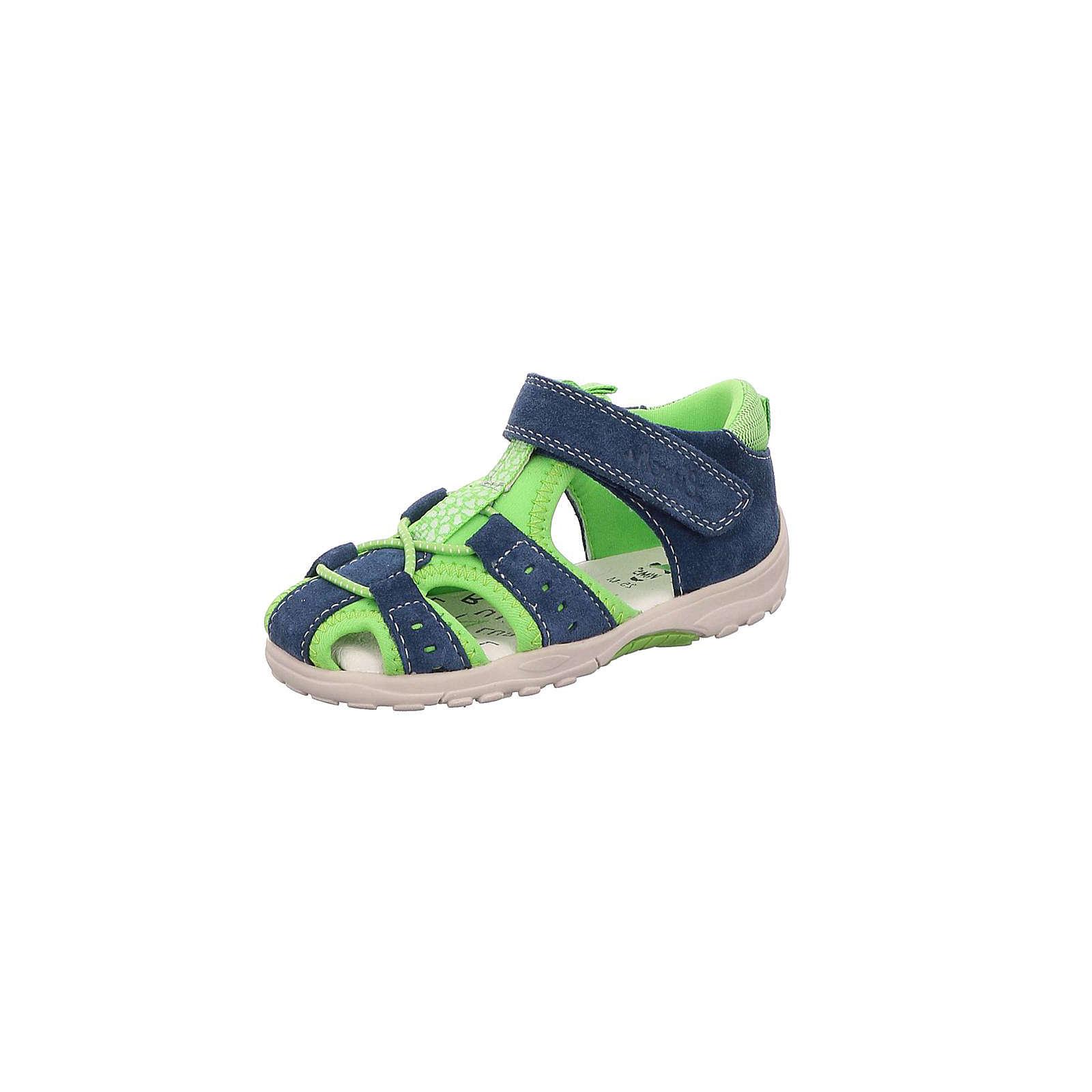 Lurchi Baby Sandalen für Jungen blau Junge Gr. 21